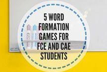 Cambridge exams / Cambridge English Exams: First and Advanced FCE CAE classroom activities