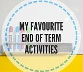 End of term activities / Activities for the last class End of school year activities