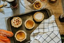"""""""Pies and Pints"""" Party / Unique party idea for fall pairing pie and beer! Beer and pie pairings. Craft beer with gourmet pie. Fall party idea."""