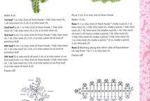 Crochet / Patrones y varios crochet