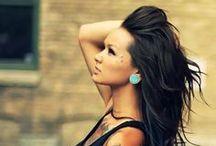 Hair style & colour
