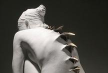 Aliens, robots, sci-fi art & steampunk