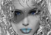 EVERYTHING SILVER / Beautiful silver !  Love the silver color ! Please PIN ONLY SILVER THINGS.  Happy Pinning !
