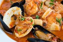 FISH & SEAFOOD RECIPES / LOVE FISH AND SEAFOOD.  I COULD BE HAPPY IN A DESERTED ISLAND EATING IT EVERYDAY.  PLEASE PIN ONLY FISH AND SEAFOOD RECIPES. !!  HAPPY PINNING.