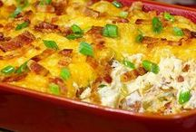 EASY CASSEROLES / WHEN YOU HAVE CHILDREN EASY CASSEROLES ARE HEAVEN SENT. PLEASE PIN ONLY CASSEROLES ALL OTHER RECIPES WILL BE DELETED !!!!! HAPPY PINNING ! / by Magda Stark
