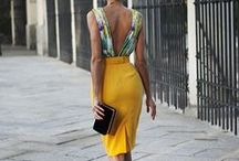 Yellow/Golden Dresses