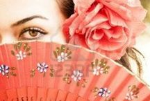 Fan me up !!! / I remember going to the theatre with my grandmother and she would always take a beautiful lace fan...I always thought there was something mysterious and yet wonderful about fans !  Hope you enjoy this board ! / by Magda Stark