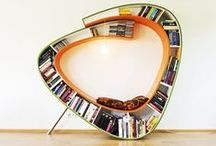 Book Shelves, Nooks, and Libraries / From shelves to closets to bookstores to libraries, we love our books.