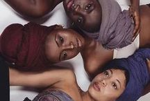 Head wraps / #headwear #headtie #headwrap #scarf #headscarf #protectivestyles