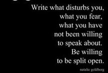 Quotes for Writers / Advice and encouragement from writers for writers. / by Eleanor Chan