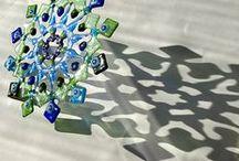 Üvegrogyasztás/Fused glass