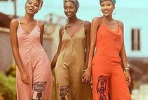 Afro boho chic / #Ethnic #ethnicbohemian #afrobohemian