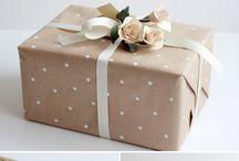 Paketleme ve sunum fikirleri / Hediye paketi hazırlamak da bir sanat aslında.. Birbirinden şık hediye sunumları bu panoda
