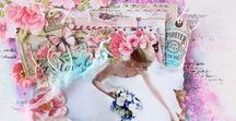 Scrapbooking Layouts by Karolina Czołba / Scrapbooking pages, layouts made in different styles.