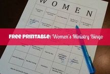 Women's Ministry Icebreakers & Games / Great icebreakers and games that will get the women mixing and mingling at your Women's Ministry events, small groups, MOPS, Youth meeting, etc.