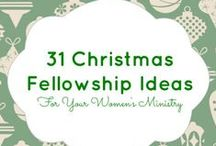 Women's Ministry Christmas ideas / Christmas fellowship, Christmas icebreaker, and Christmas game ideas for Women's Ministry, Sunday school, small groups, and Youth groups.