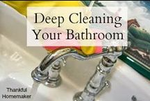 DIY Cleaning Tips / Tips, tricks and info / by Sandy Bell