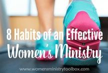Women's Ministry Toolbox / Women's ministry ideas, tips, and inspiration from my blog - Women's Ministry Toolbox. Covering events, Bible study, décor, fellowships, icebreakers, leadership, mentoring, and more!