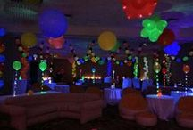 "Lite-a-Loon™ Balloons / We are excited to announce the recent release of the Lite-a-Loon™. These 11"" latex balloons are pre-packed with a battery powered LED light inside to create a glowing effect in low light environments. Lite-a-Loons™ can be filled with helium or air and offer a 20-hour battery life, making them ideal for parties and event decor! #litealoon  http://www.burtonandburton.com/litealoon/"