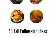 Fall Women's Ministry Ideas / Food, fellowships, décor, etc. that reflect the fall season.