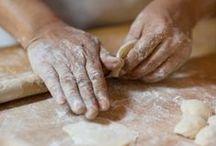 Arbeiten mit Teig / Handmade artisan bread is our passion.