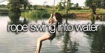 BUCKETLIST / Things to do before I die.