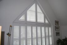 Shutters / Shutters provide light control, privacy and insulation.  With an extensive range of materials and finishes for both internal and external installations, shutters are furniture for your windows and doors. Shaped, arched, raked, hinged, bi-folding, sliding and fixed, options and solutions a plenty!