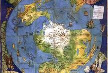 Fantasy Maps / Maps are portals to fantasy worlds, they help create something physical, a tie to a world that would otherwise exist only in the imagination of viewers. Here you will find portals to thousands of worlds...