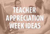 Teacher Appreciation Week / Join us as we celebrate the hard work and important contributions of teachers during National PTA's Teacher Appreciation Week, May 2-6, 2016.  Use these resources to personally thank teachers for making a positive impact on your life and the lives of children across the country. Visit PTA.org/ThankATeacher for more info. / by National PTA