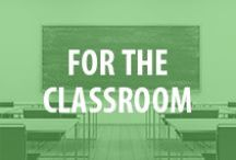 For The Classroom / From classroom setup to classroom management and classroom organization, we're sharing our favorite classroom ideas for teacher and parent volunteers. / by National PTA