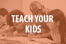Teach Your Kids / Simple educational activities for parents to use at home or for teachers to incorporate in the classroom. Make learning fun with these great education ideas.  / by National PTA