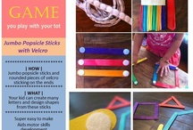 DIY Educational Toys / Toys and games you can make with and for your precious little persons.