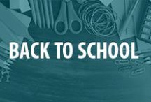 Back to School / From back to school bulletin boards to back to school DIY projects, we're sharing our favorite back to school ideas for parents, teachers and volunteers.ur favorite school supplies this year? / by National PTA