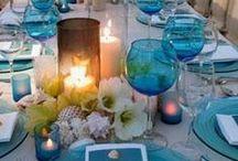 Eventos & Fiestas - velas & flores ... / siempre habrá un motivo para celebrar o decorar con velas y flores.....