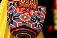 Crochet * mochilas - bolsos - carteras - accesorios / artesanal - crochet - guayuu - aruhuaco - macramé