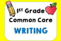 First Grade Writing Activities /  Products and ideas based on 1st grade Common Core Writing Standards
