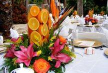 eventos & fiestas - con frutas & flores / decoración  con frutas & flores