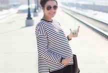vestida para lucir la maternidad
