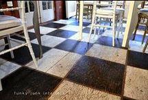 Painted/StenciledFurniture/Floors?Walls