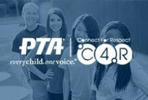 Connect for Respect / Connect for Respect (C4R) is National PTA's initiative to help students, parents and educators to create school climates full of safe and supportive peer relationships. Great tips for bullying prevention. / by National PTA
