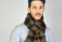 Sciarpe pelliccia uomo