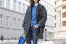 Street style / Street style and street fashion ideas for sewing