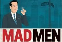 MAD MEN / The show may be over, but you can still immerse yourself in the Mad Men world!   Below are books about the show, books popular in the 60s, and books the characters actually read on the show!  http://www.nypl.org/blog/2012/02/27/mad-men-reading-list
