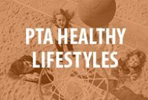 PTA Healthy Lifestyles / Whether it's fall, winter, spring or summer, we're all about living healthy lifestyles. How to advocate for healthy changes in nutrition and physical activity at your school. As well as simple and fun ideas you can use at home to stay healthy and active as a family. / by National PTA