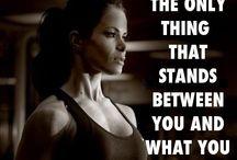 Fitness / Motivation och fitness