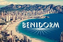 Benidorm / A very beautiful place in Alicante ,Spain