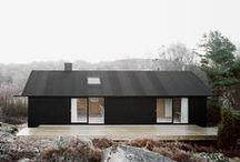 Modern black exterior