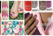 Joanna's Jamberry nail wraps / Nail art done easy, affordable and they are kind to your nails.