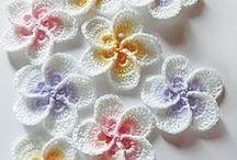 Crochet flores / el arte de tejer