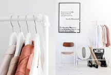 ↠ CLOTHING ROOM / for my future clothing room, a clothing rack is a must..